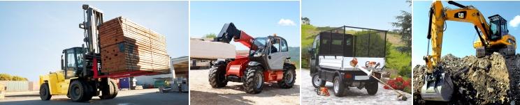 ZEPPELIN POLSKA Sp. z o. o., wózki widłowe HYSTER, elektryczne pojazdy platformowe Goupil, maszyny do pracy w terenie MANITOU, używane maszyny budowlane