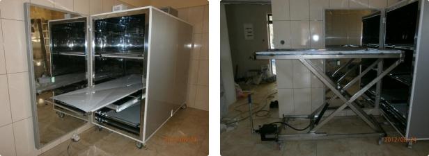 Komory chłodnicze do przechowywania ciał, Automat