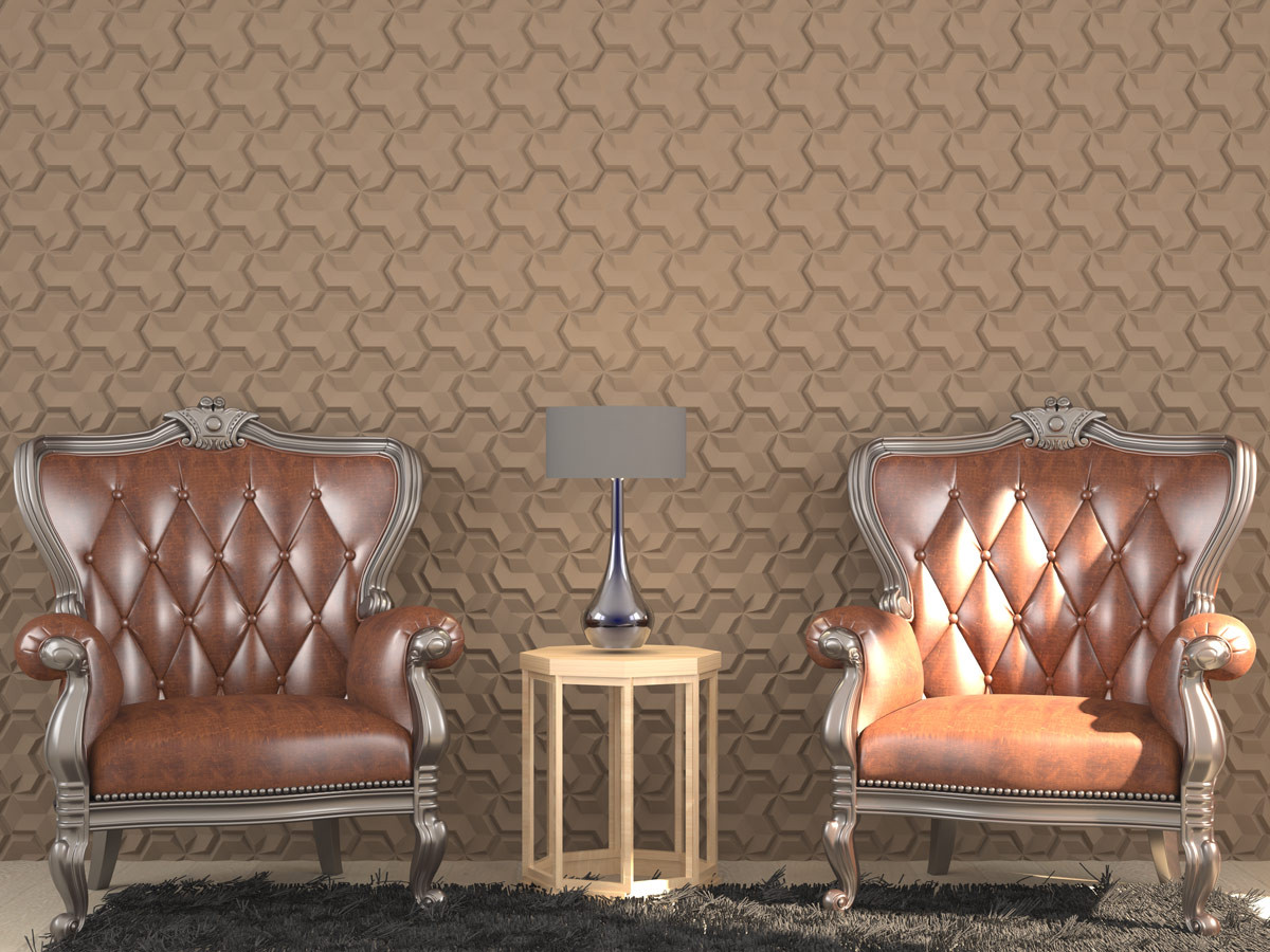 Wizualizacja: Panele styropianowe 3D - BUMERANG