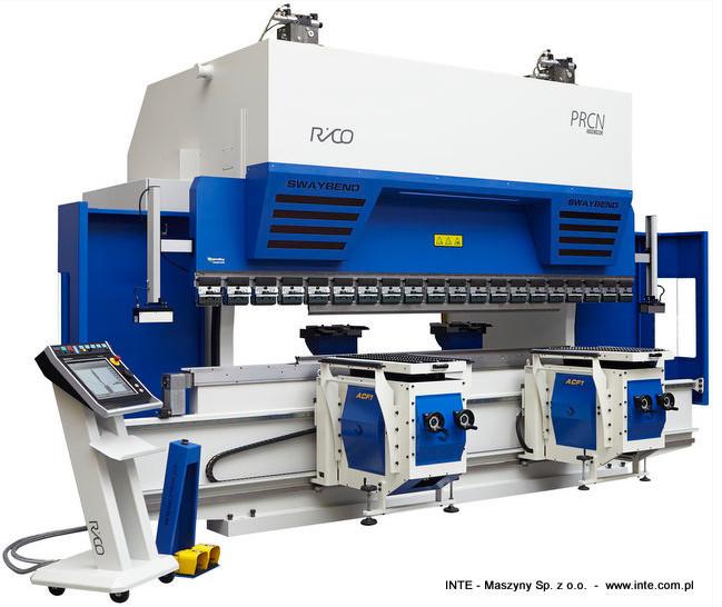 INTE - Maszyny Sp. z o.o. ,Prasy krawędziowe RICO typ PRCN