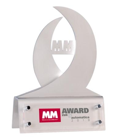 Nagroda MM Magazynu Przemysłowego na targach AUTOMATICA - SCHUNK Intec Sp. z o.o.
