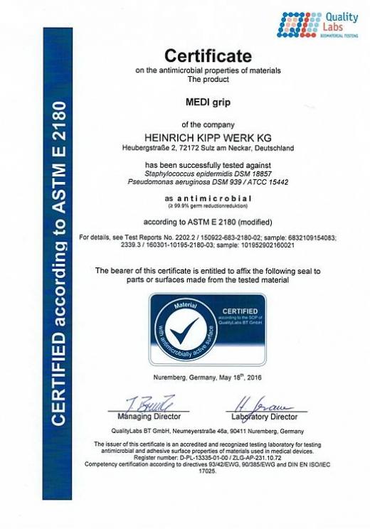 Certyfikat Quality Labs