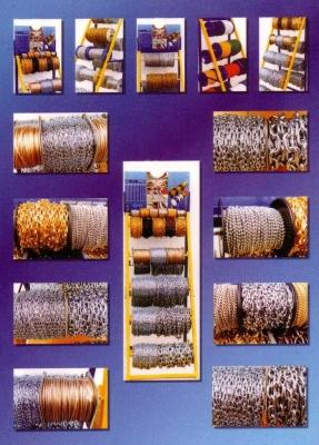 Złącza budowlane, łańcuchy, liny stalowe Kredo-Metal
