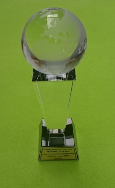Nagroda z okazji jubileuszu 25 - lecia firmy