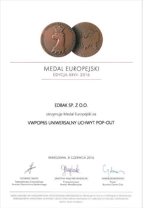 Medal Europejski 2016