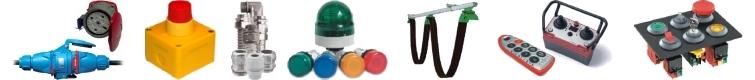 NOWIMEX s.c., Systemy zasilania ruchomych odbiorników prądu, Panale sygnalizacyjne i alarmowe, Sygnalizatory świetlne i dźwiekowe, Dławice do kabli