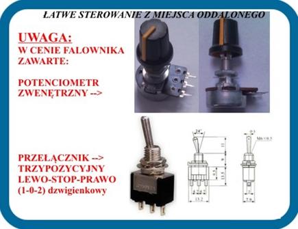 Falownik LG -4,0 KW 3F, Zawex, łatwe sterowanie z miejsca oddalonego