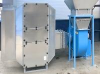 Instalacja o wysokości ok.2m i wydajności chemicznej 4000m3/h