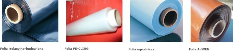 Folia izolacyjno-budowlana, PackPol, Folia PE-CLING, Folia ogrodnicza, Folia AKWEN