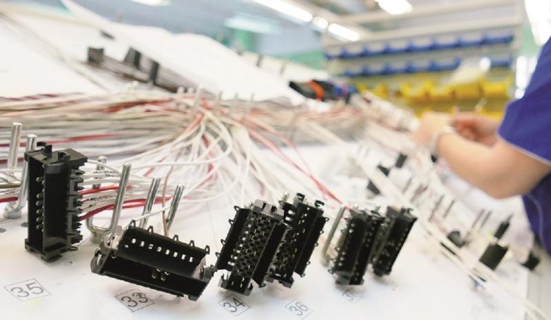DSN DOLSIN, wiązki przewodów elektrycznych