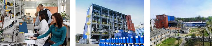 LERG w Pustkowie, producent i eksporter żywic syntetycznych