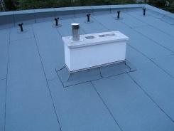 Termorenowacja dachu płaskiego domu jednorodzinnego TERMO-DEK