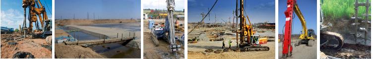 Kolumnt CMC, kolumny żwirowe, fundamenty firmy Menard