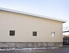Budynek przemysłowy Prästgatan, Avesta, Szwecja, Paroc