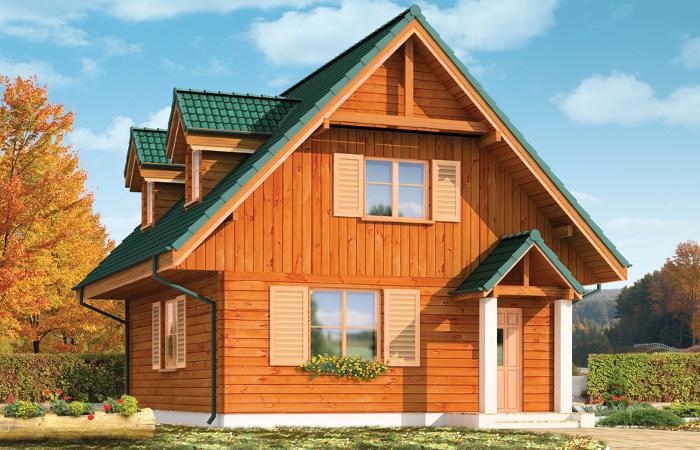 Projekty domów drewnianych MGProjekt