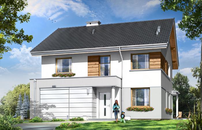 Projekty domów szeregowych  MGProjekt