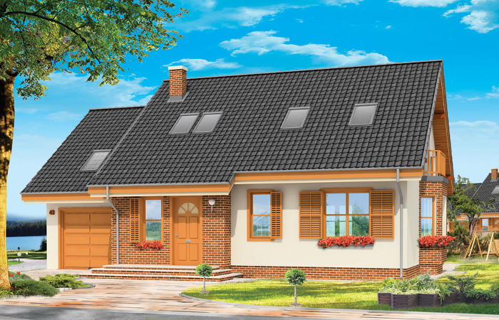 Projekty domów do zbliźniaczenia MGProjekt