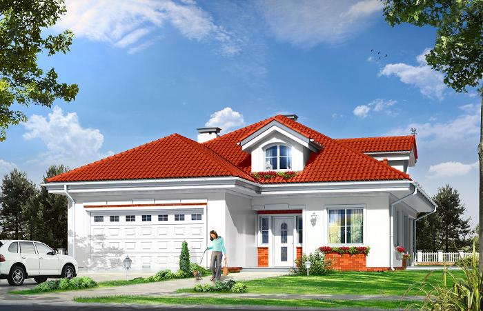 Projekty domów z możliwością instalacji kotła na paliwo stałe MGProjekt