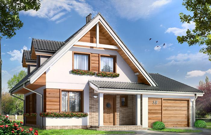 Projekty domów z poddaszem MGProjekt