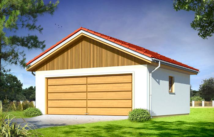 Projekty garaży MGProjekt