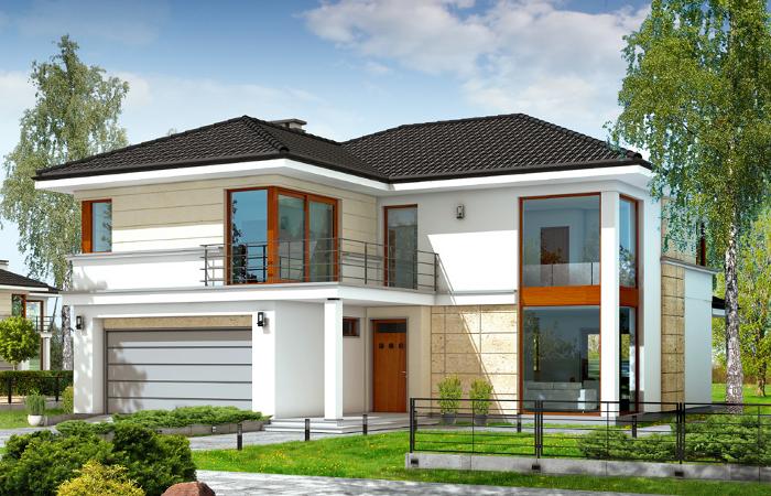 Projekty domów z piwnicą MGProjekt