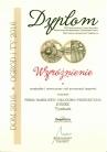 Wyróżnienie za oryginalny i nowoczesny styl prezentacji targowej - DOM Kielce 2016 wyróżnienie przyznane przez organizatorów XXIII Targów Materiałów Budownictwa Mieszkaniowego i Wyposażenia Wnętrz JONIEC
