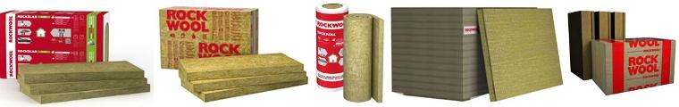 Wełna minerlana firmy ROCKWOOL