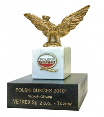 Nagroda Polski Sukces Vetrex\