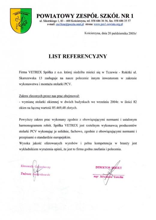 Powiatowy Zespół Szkół nr1