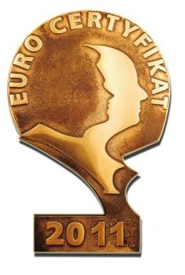 EuroCertyfikat 2011 Vetrex
