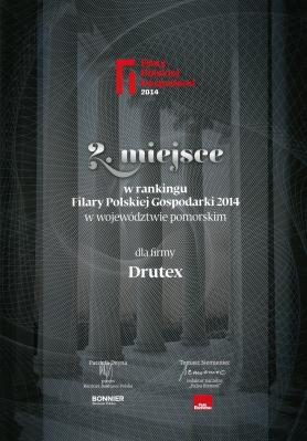 Filary Polskiej Gospodarki 2014 dla firmy DRUTEX