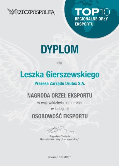 Orły Eksportu dla Prezesa Leszka