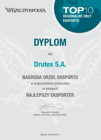 Orły Eksportu dla DRUTEX