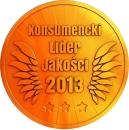 Godło Laur Konsumenta, Złote Godło Konsumencki Lider Jakości, konsulencki lider jakości 2013, Gerda