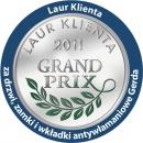 Godło Laur Konsumenta, Złote Godło Konsumencki Lider Jakości, laur klienta grand prix, Gerdda