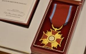 Złoty Krzyż Zasługi dla właściciela firmy STYROPMIN
