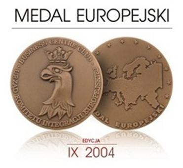 Medal Europejski 2004
