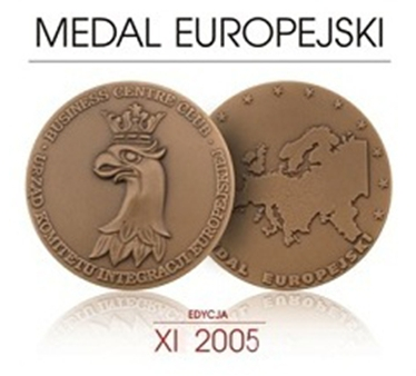 Medal Europejski 2005 dla STYROPMIN