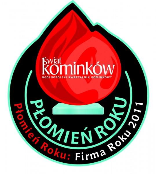 Płomień Roku 2011 dla Glen Dimplex Polska w kategorii Firma Roku Glen Dimplex