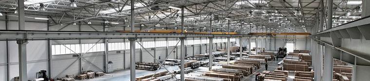 Hale produkcyjne, magazynowe, hale handlowe firmy Commercecon