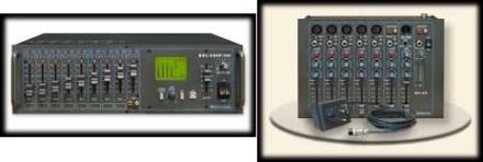 Wzmacniacze, miksery i eliminatory sprzężeń Full Media System