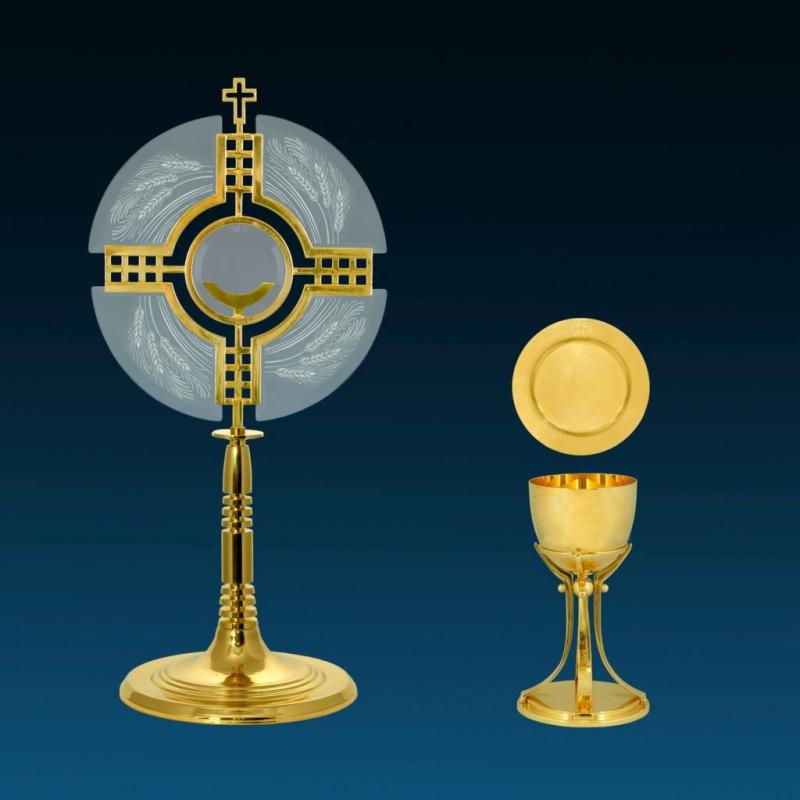 Monstrancje, naczynia liturgiczne, tabernakula, trony, ALADYN