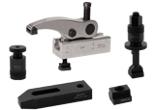 Narzędzia, łapy dociskowe, podpory, śruby i nakrętki teowe, dociski boczne, płytki bazowe, trzpienie mocujące NXnorm