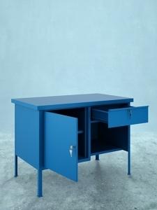 Stół warsztatowy SWJ / RAL 5017, MET-LAK Sp. z o.o.