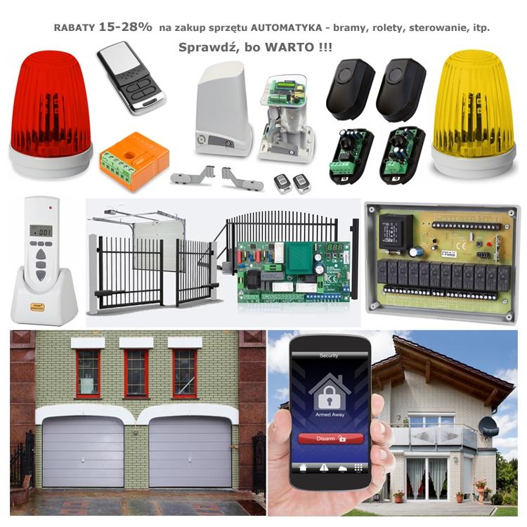 Systemy Alarmowe - Alertus RABAT 15-35% centrale alarmowe, manipulatory, GSM/GPRS, czujki, obudowy, osprzęt, akcesoria