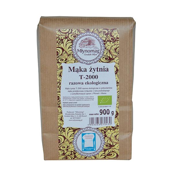 Ekologiczna mąka żytnia T2000