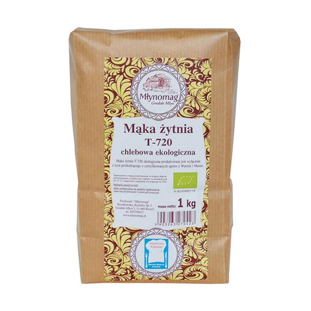 Ekologiczna mąka żytnia T720