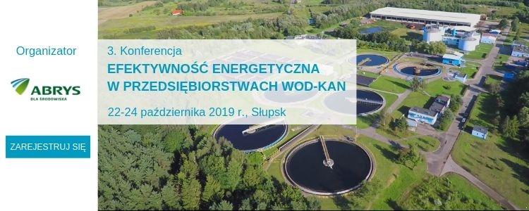 ABRYS - Konferencja Efektywność energetyczna w przedsiębiorstwach wod-kan
