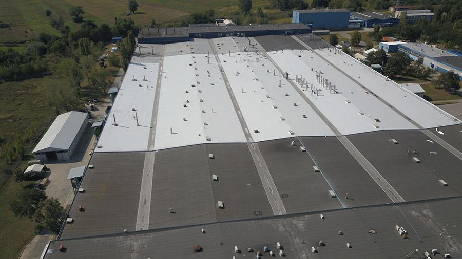 Jak dachy płaskie, to tylko na solidnych i trwałych materiałach